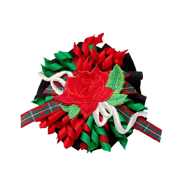 Little Darlings The Tartan Massive Hair Clip 5060 - Hair Accessories