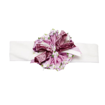 Little Darlings Violet Rose Headband A5033 - Hair Accessories