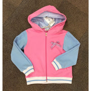Little Lady Pink & Blue Hoodie - Hoodie