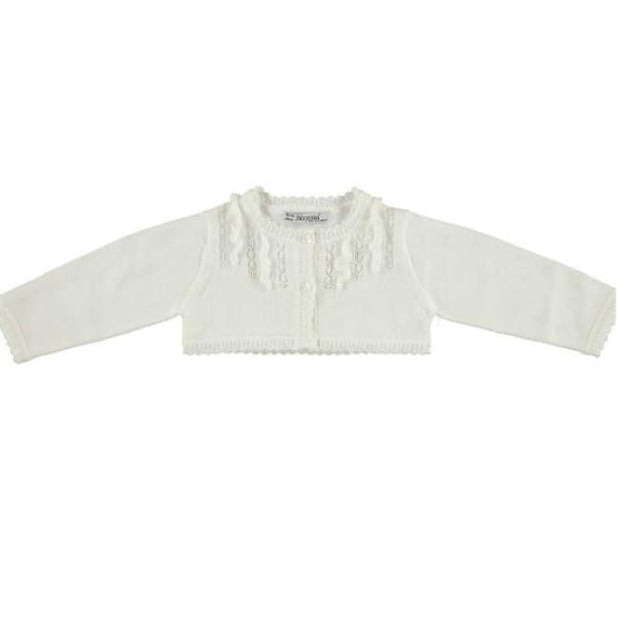 Mayoral Cream Cardigan 1322 - Cardigan