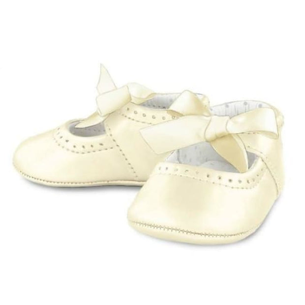 Mayoral Mary Janes Shoes 9232 Cream Patent - Shoes
