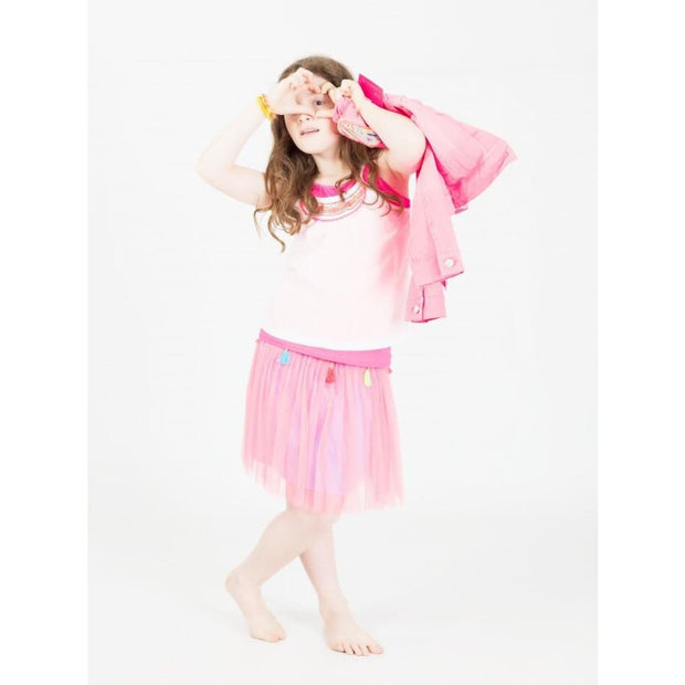Mim-Pi Pink Skirt - Outfits