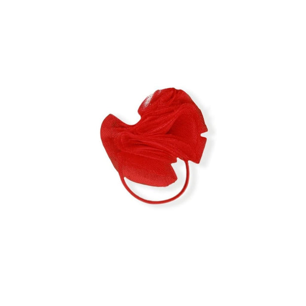 Miranda Ss19 Red Elastic Hairband Bobble - Hair Accessories