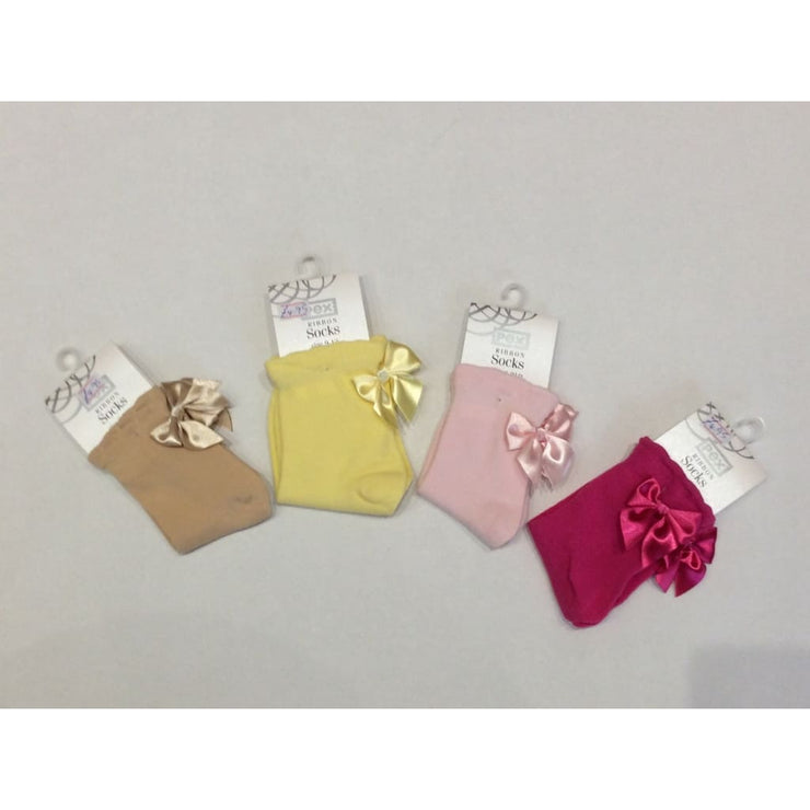Pex Ribbon Ankle Socks Caramel - Socks