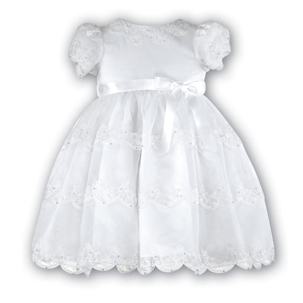 Sarah Louise 070008 White Christening & Special Occasion Dress - Christening Dress