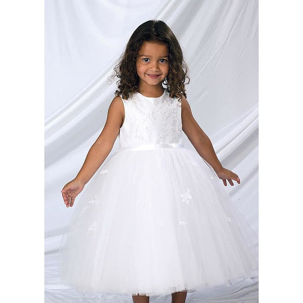 Sarah Louise 070035 Ivory Christening and Special Occasion Dress - Christening Dress