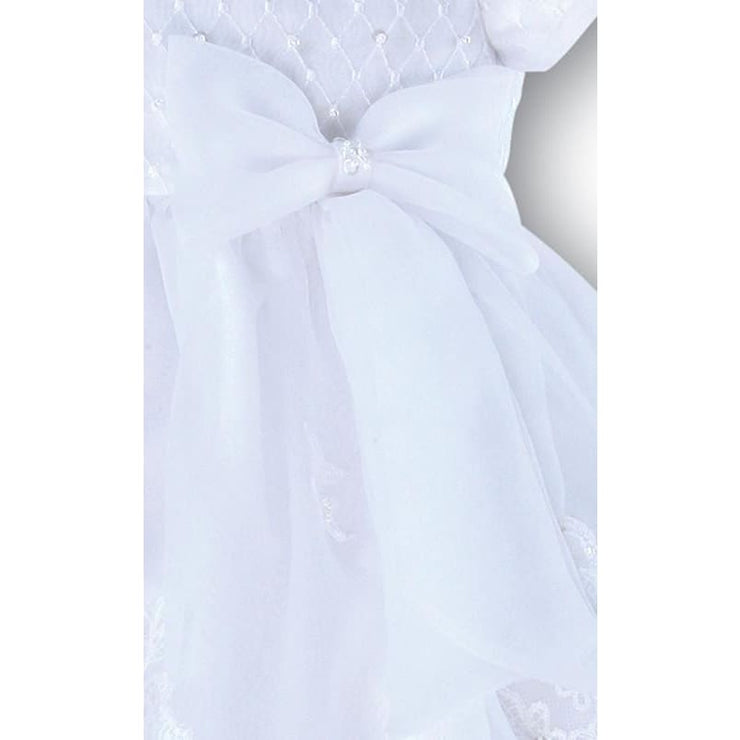 Sarah Louise 8920 Ivory Christening Dress - Christening Dress