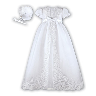 Sarah Louise White Christening Gown 001165 - Christening Gown