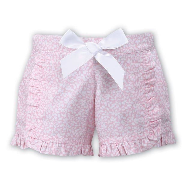 Sarah Louise White / Pink Shorts Set 011561 011560 - Playsuits