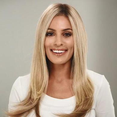 Blonde Gradient durable natural wig
