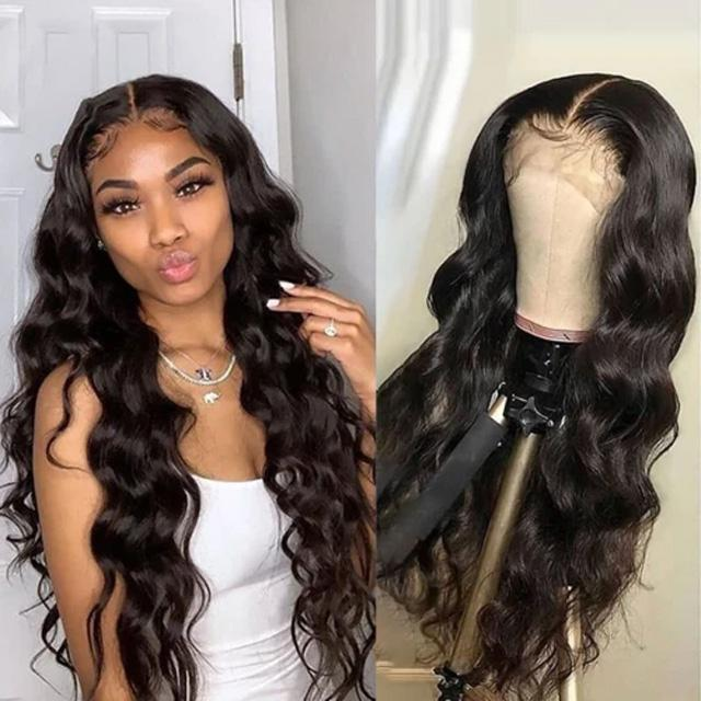 Lace Front Wig Body Wave Wigs with Natural Hairline