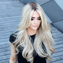 Load image into Gallery viewer, Fasinating | Long Wavy Blonde Wig