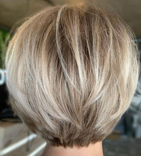 Load image into Gallery viewer, Natural Short Blonde BOB Wig For Women