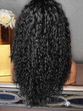 Load image into Gallery viewer, Black Curly Heat-resistant Full wig