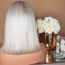 Load image into Gallery viewer, White Bob Glamorous Wig For Woman