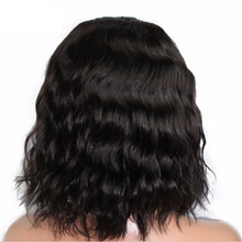 Load image into Gallery viewer, Natural 100% real black wave wig
