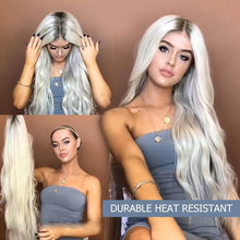 Load image into Gallery viewer, Durable Heat resistant full wig