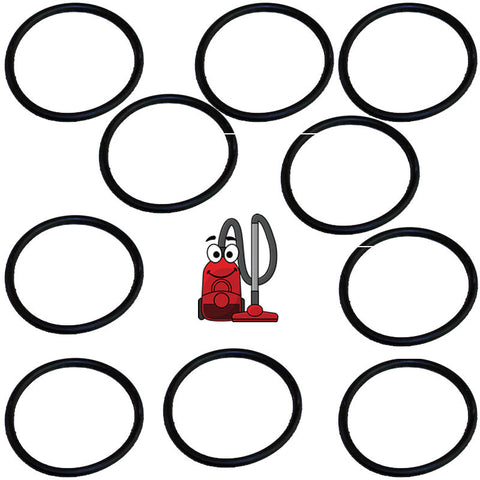 Eureka, Sanitaire, Oreck, Upright Round Vacuum Cleaner Belts - 10 Pack lot - 52100C-12