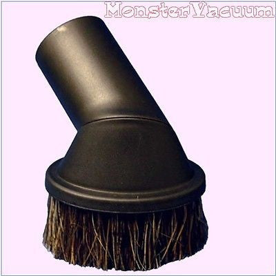 Miele Dusting Brush Attachment Fit In Canister Swivel Neck Soft Horse Hair Bristles, 35Mm