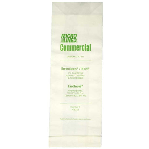 Advance Paper Bag, Euroclean  Lindhaus Models 10p, 476323 - MonsterVacuum.com