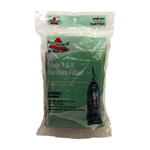 Bissell Filter, Kit W/motor And  Secondary Foam, 3093