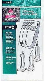 Bissell Paper Bag, Style 2 Sub3 Sb Hb Upright 3pk, 32018