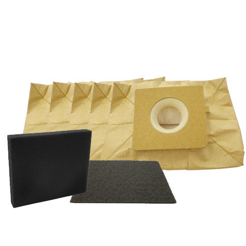 Bissell Paper Bag,   W/1 Sec & Exh Filter Zing 5pk, 77F8