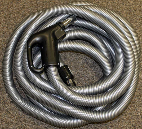 Built-In Hose, Elec 35' Gas Pump  Dc Button Lock Silver, SZ902138035BDUI