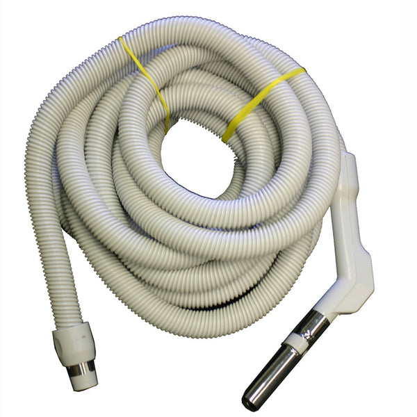 "Built-In Hose, 1 3/8"" X 35' Low Voltage Gray Cp W/ Switch, XE130138035FU"