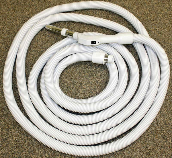 "Built-In Hose, 30' Low Voltage 1 3/8"" Button Lock W/ Switch, XE130138030BUN"