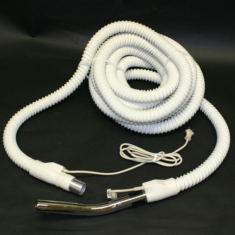 Built-In Hose, 30' Electric W/metal Button Lock Wand End, BIA-25M
