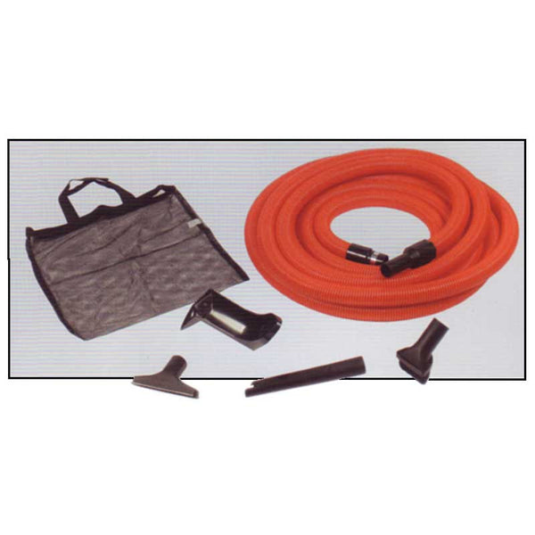 Built-In Kit, Garage 30' Orange Hose W/ Tools Holder Caddy, 94864B