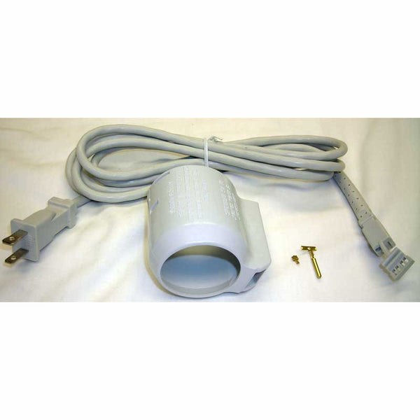 Built-In Repair Kit, Corded Wall  End 8' Cord & Cuff Gray, SH130-R01