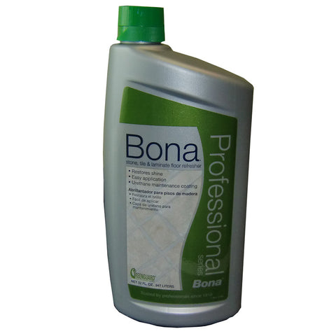 Bona Refresher, Pro Series St&l Floor 32 Oz., WT760051164