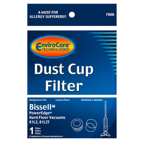 Bissell Filter, Bis Dust Cup     Power Edge, F606 - MonsterVacuum.com