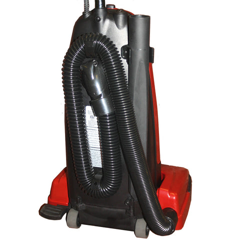 Cirrus Easy Cary Upright Vacuum - 12 amp motor, long hose - lightweight only 11 lbs