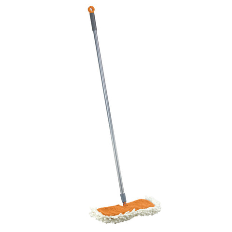 Casabella Floor Duster, Flip Graphite/orange Refill # 17551, 17550