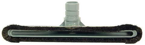 "Commercial Floor Brush, 1 1/2"" X 14"" Slotted Hh Bristles Gray, 535HSL"