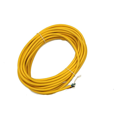 Carpet Pro Cord, Power 40' 16/3     Yellow, 14.105