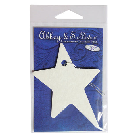 Vacuum Accessories Fragrance Papers, Star Abbey & Sullivan, AS-STAR