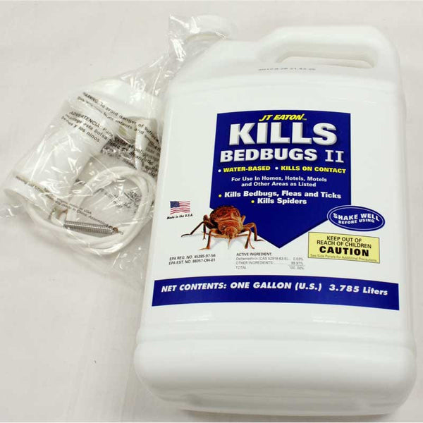 Vacuum Accessories Spray, Kills Bedbugs Ii  Water Based 16 Weeks 1gal, 207-WIG