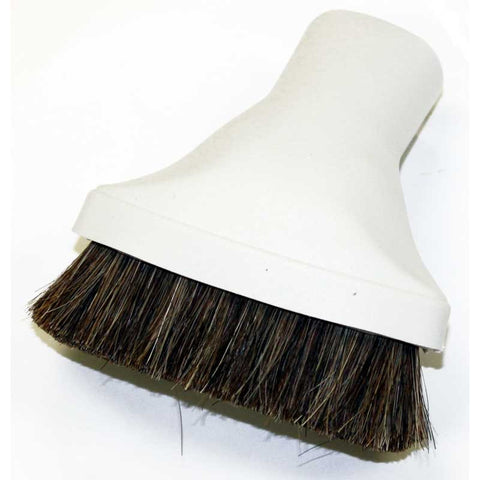 Cen-Tec Dust Brush, Light Gray Oval Horse Hair, 37270