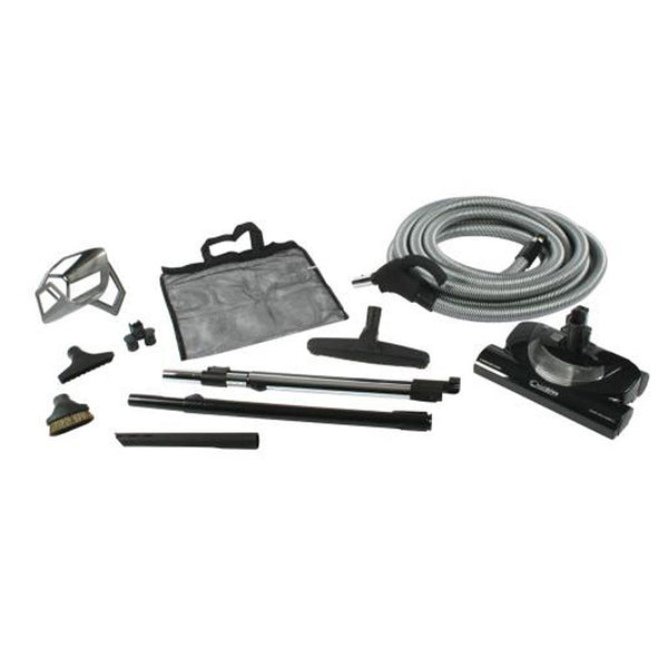 Cen-Tec Premium Kit, 35'hose Direct Connect 2hose/2wand Bk, 94171A