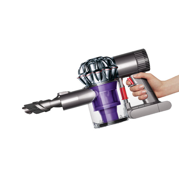 Dyson Vac,  Hand Bagless Cordless Nickel/red/pur Dc58, 204720-01