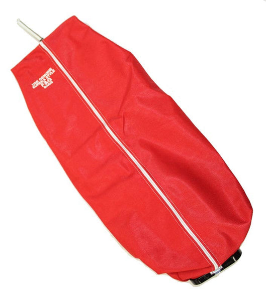 Eureka Cloth Bag, Commercial  Zipper W/latch Cplg Red, 15001-11