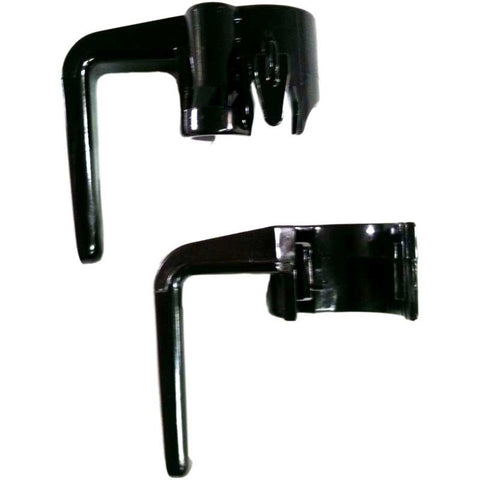 Eureka Hook, Cord Sanitaire Black Commercial Top & Bottom, 53574-4