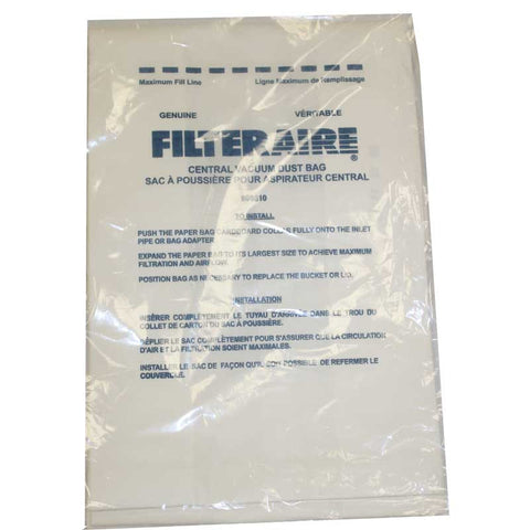 Eureka Paper Bag, Beam Fltrair Cv1800 Use E-110-330, 110360
