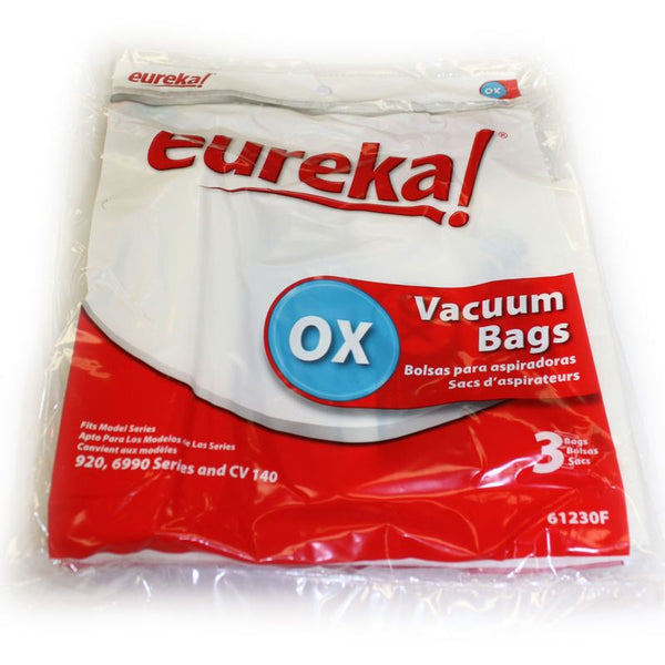 Eureka Paper Bag, Eur Style Ox  Oxygen, Europa Can 3 Pk, 61230F-6