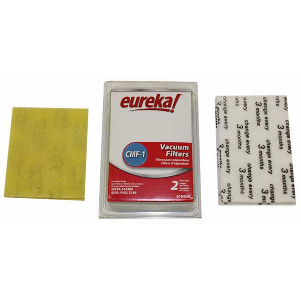 Eureka Filter, (2)28115 (2)61333 4pk Cmf1 Type 4380 4480, 61940B-4