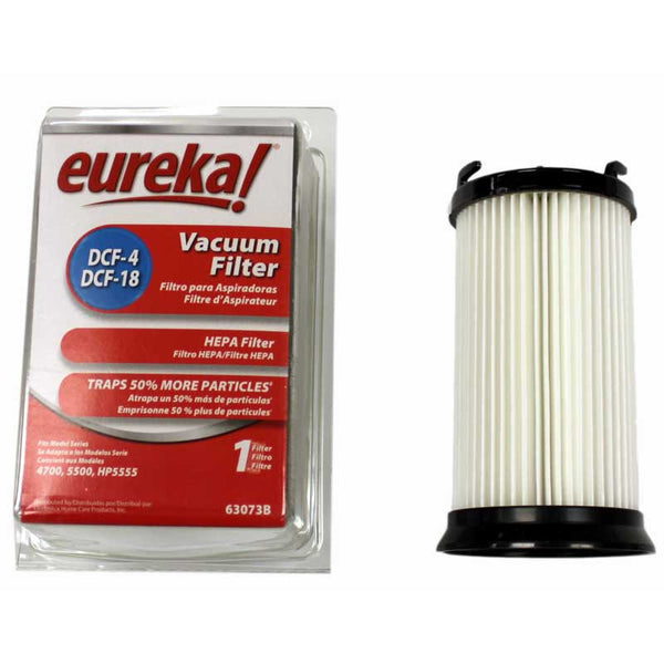 Eureka Filter, Dust Cup 4700    5500 Dcf4/18 Yellow A&h, 63073C-2